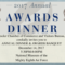 2017 Annual Awards Awards Dinner