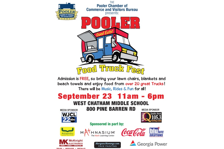 Poolers First Food Truck Festival 2018