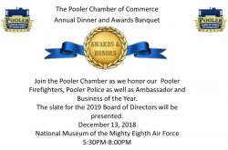 Annual Dinner and Awards Banquet 2018