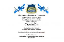 Ribbon Cutting for Captain D's