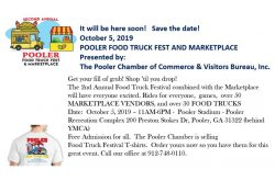 Pooler Food Truck Festival and Marketplace 2019