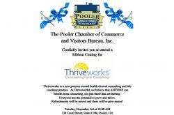 Ribbon Cutting for Thriveworks Counseling and Coaching