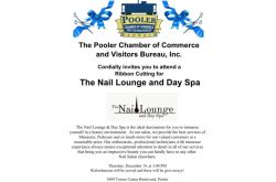 Ribbon Cutting for The Nail Lounge and Day Spa