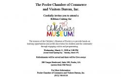 Ribbon Cutting for Children's Museum of Pooler