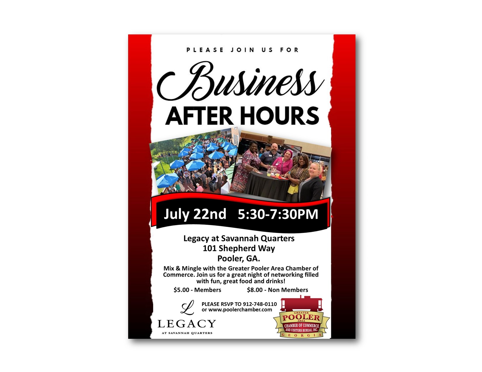 Business After Hours - Legacy at Savannah Quarters